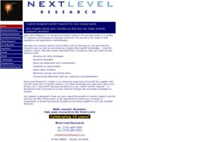 nextlevelresearch.com