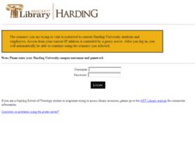 nexus.harding.edu