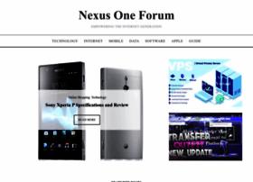 nexusoneforum.net