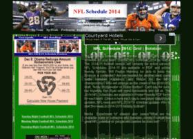 nflschedule2014.org