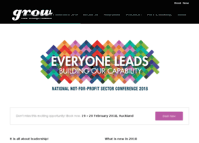 Nfpconference2018.grow.co.nz