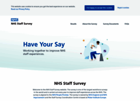 nhsstaffsurveys.com