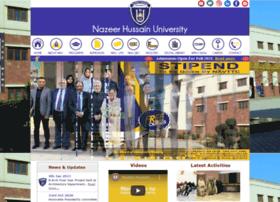 nhu.edu.pk