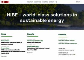 nibe.com