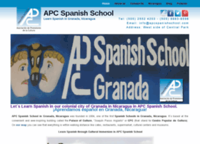 nicaraguaspanishschools.com