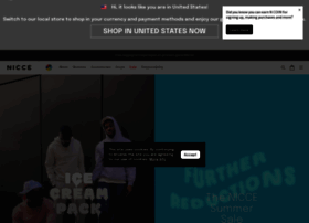 nicceclothing.com