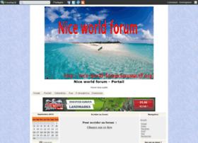 nice-world-forum.forumactif.net