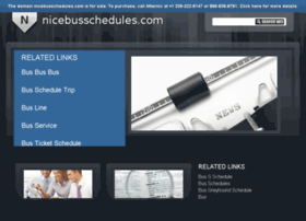 nicebusschedules.com