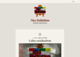 nicedefinition.com
