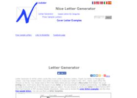 niceletter.com