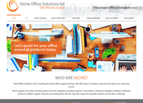 nicheofficesolutions.co.uk