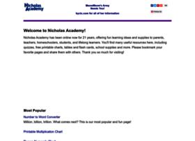 nicholasacademy.com