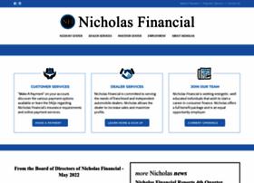 nicholasfinancial.com