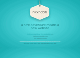 nickhabib.com
