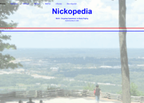nickopedia.com