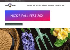 nicksgardencenter.com