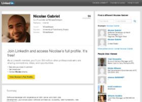 nicolaegabriel.info