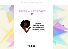 nicolalespeare.com