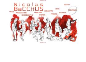 nicolas-bacchus.com