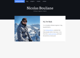 nicolasbouliane.com