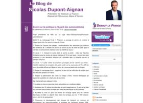 nicolasdupontaignan.fr