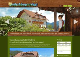 niederhaeusererhof.com