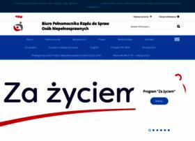 niepelnosprawni.gov.pl