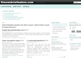 nieuwsbriefmaken.com