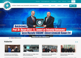 nigde.edu.tr