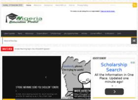 nigeriaeducationportal.com