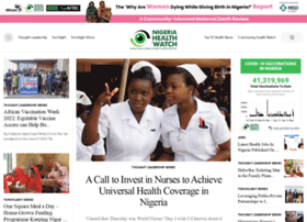 nigeriahealthwatch.com