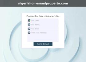 nigeriahomesandproperty.com