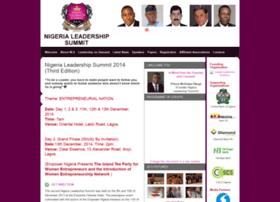 nigerialeadershipsummit.com