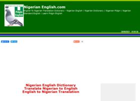 nigerianenglish.com