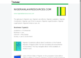 nigerianlawresources.com