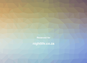 nightlife.co.za