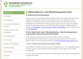 nikotinpflaster-information.de
