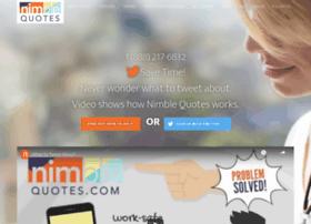 nimblequotes.com
