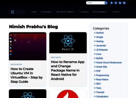 nimishprabhu.com