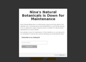 ninasnaturalbotanicals.com