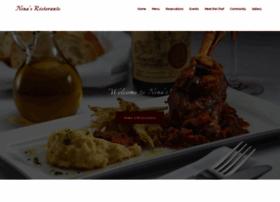 ninasrestaurant.com