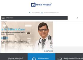 nirmalhospital.com