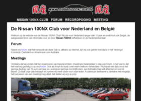nissan100nxclub.nl
