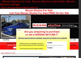 nissanskylinebroker.com