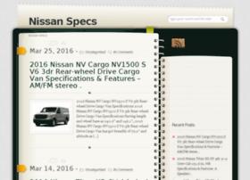 nissanspecs.info