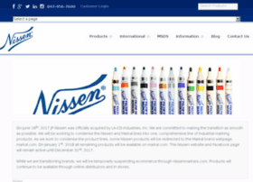 nissenmarkers.com
