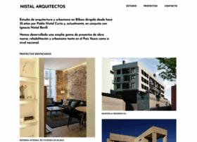 nistalarquitectos.com