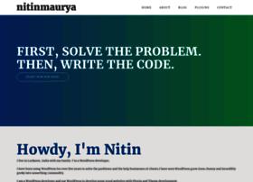 nitinmaurya.com