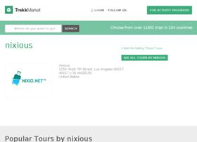 nixious.trekksoft.com