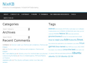 nixkb.org